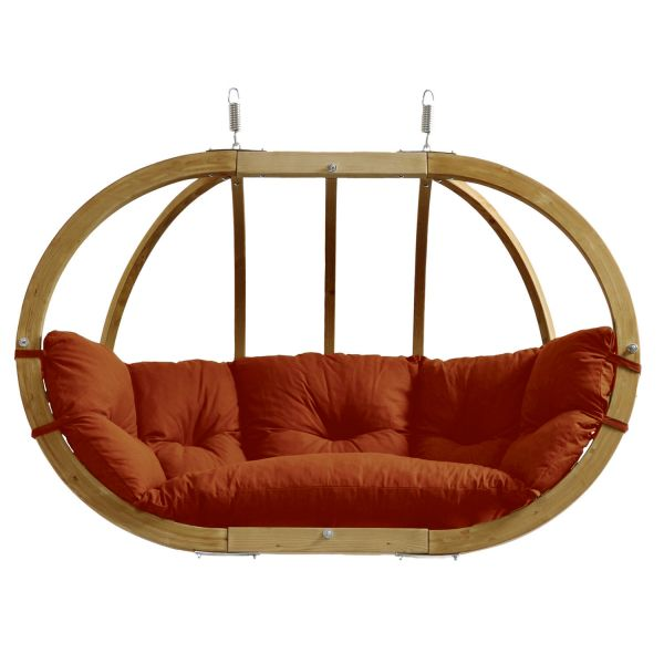 'Globo Royal' Terracotta Hamac Chaise avec Support