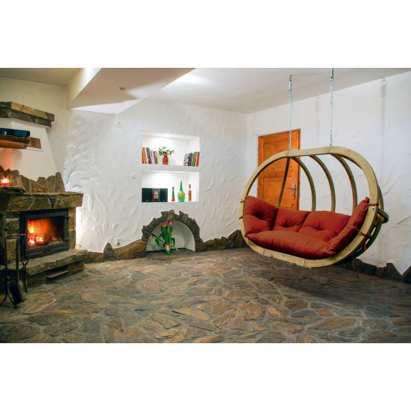 'Globo Royal' Terracotta Hamac Chaise