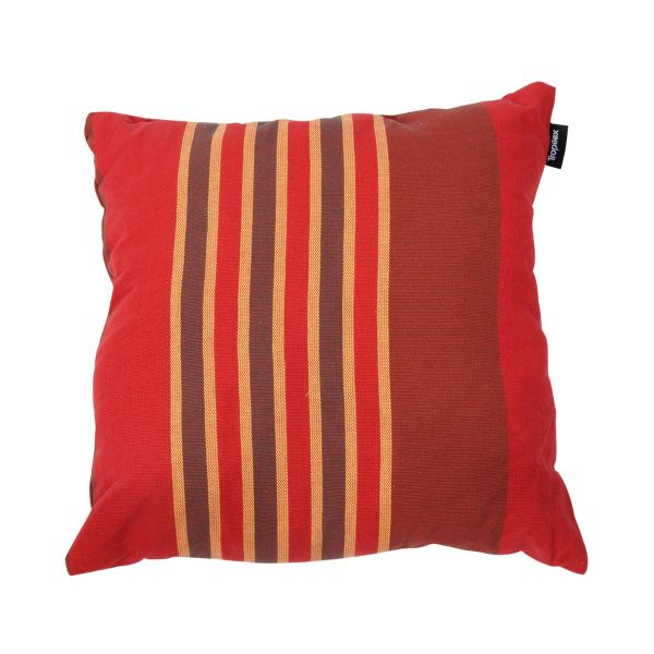 'Stripes' Terracotta Coussin