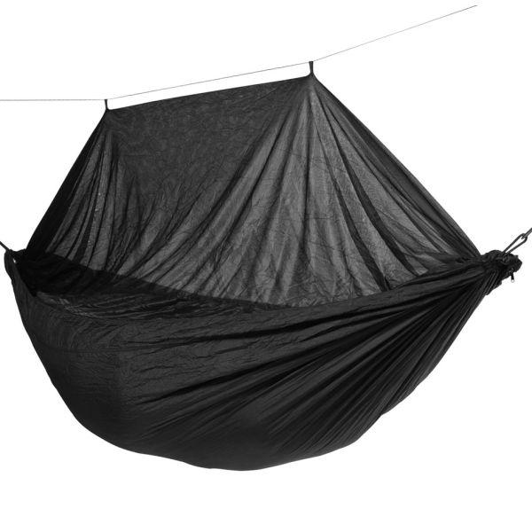 'Mosquito' Black Hamac de Voyage Une Place