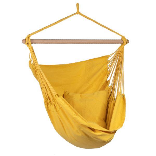 'Organic' Yellow Hamac Chaise