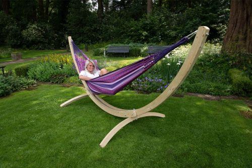 Wood & Chill Love Hamac Sur Pied Deux Places