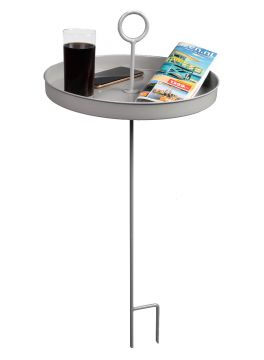 Silver  Table d'appoint