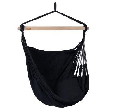 Comfort Black Hamac Chaise