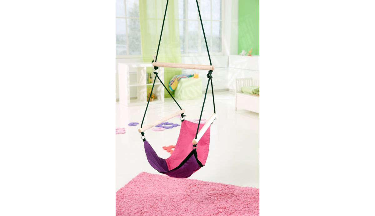 'Swinger' Pink Hamac Chaise Enfant