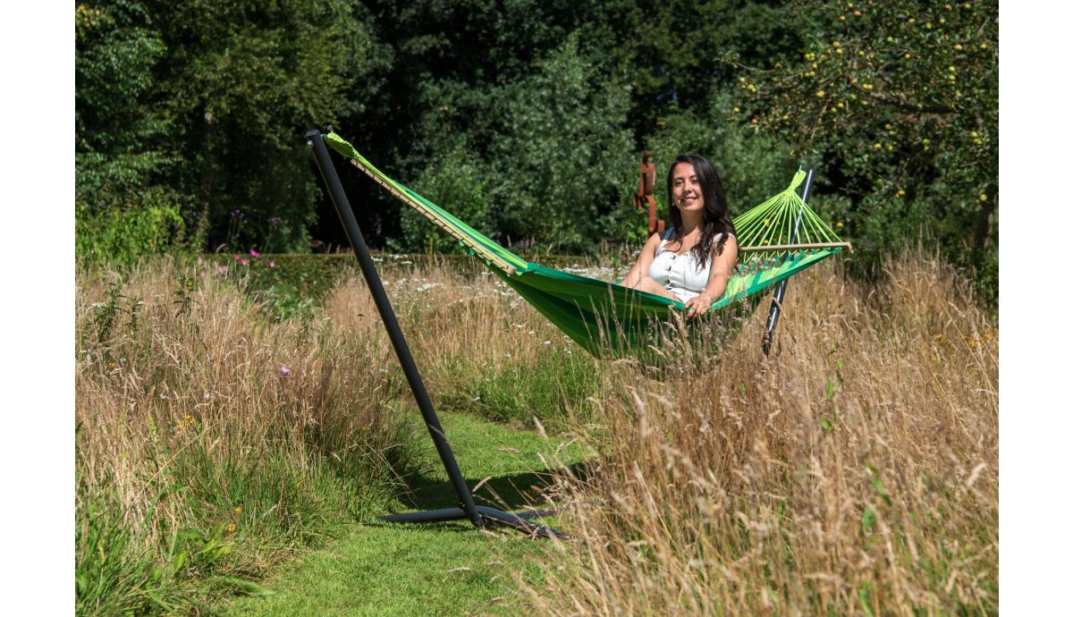 'Relax' Green Hamac Une Place