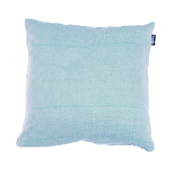 'Natural' Blue Coussin