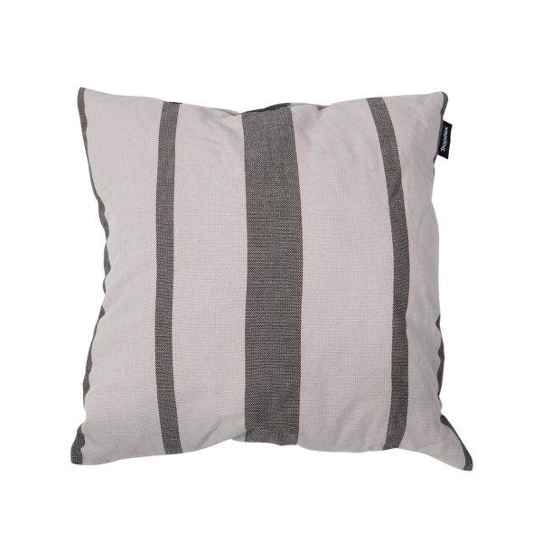 'Stripes' Silver Coussin