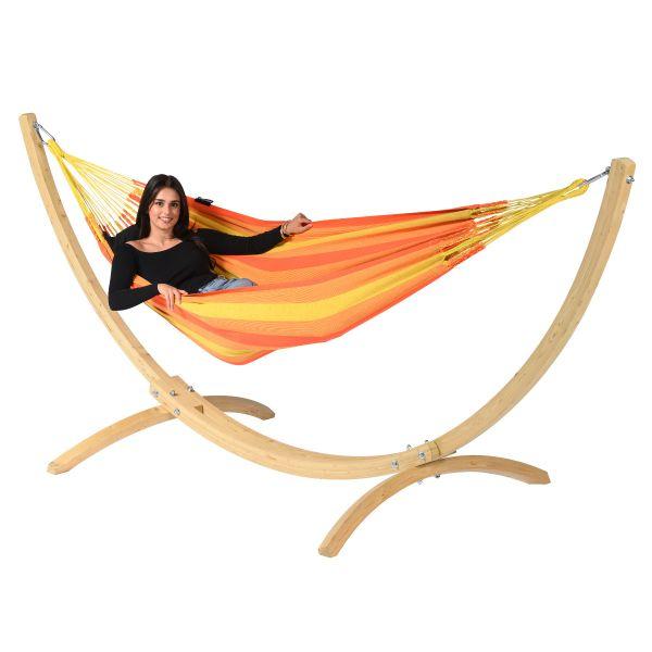 'Dream' Orange Hamac Une Place