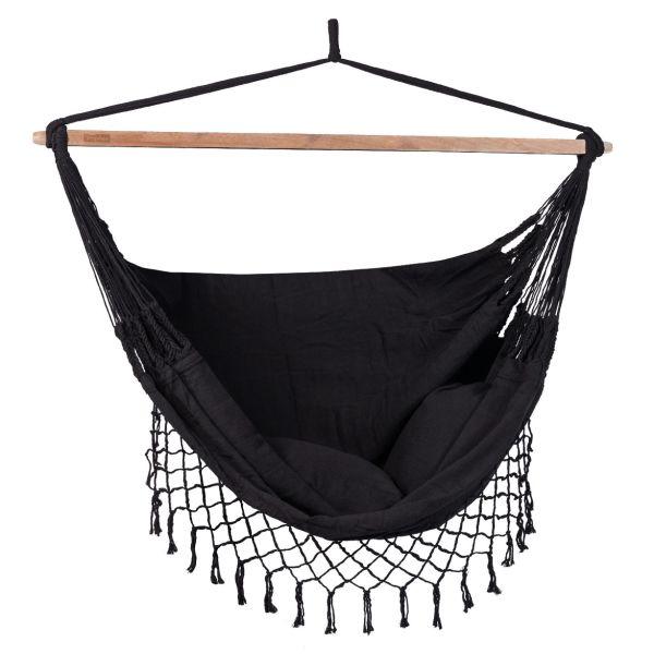 'DeLuxe' Black Hamac Chaise