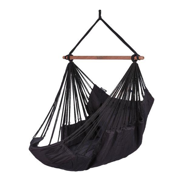 'Sereno' Black Hamac Chaise
